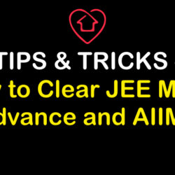 Tips on How to Clear JEE 2019 | Being Home